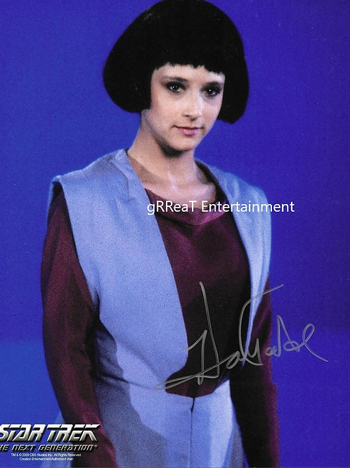 Hallie Todd autographed 8 in x 10 in photo