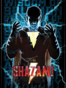 Shazam! Billy surrounded by Electricity