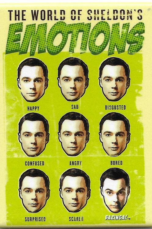 Big Bang Theory: Sheldon's Emotions