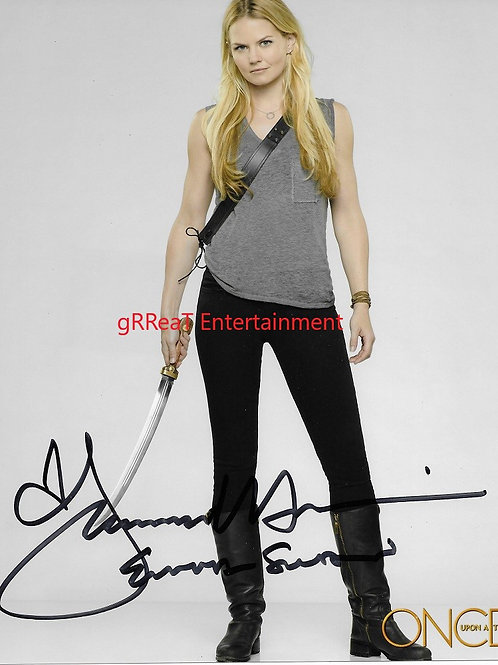 Jennifer Morrison autographed 8 in x 10 in. Photo