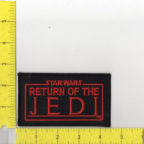 Star Wars: Return of The Jedi, Name Logo Patch