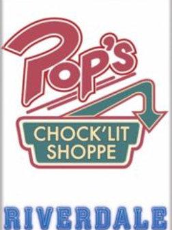 Riverdale: Pop's Chock'Lit Shoppe Logo (W)