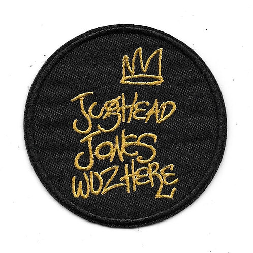 "Riverdale TV Series ""Jughead Jones Wuz Here"" Patch"