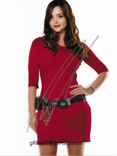 Jenna Coleman autographed 8 in x 10 in. Photo
