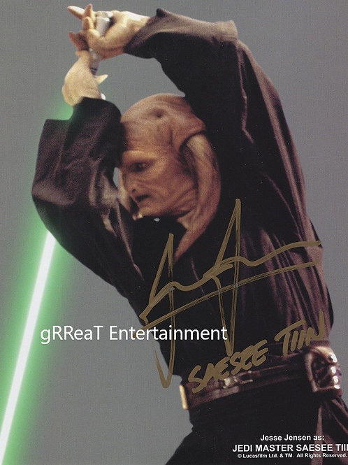 Jesse Jensen autographed 8 in x 10 in photo