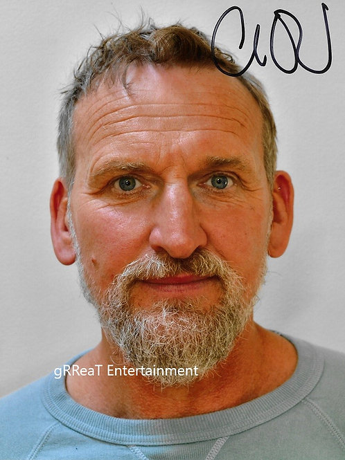 Christopher Eccleston autographed 8 in x 10 in photo