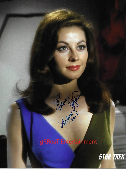 Sherry Jackson Autographed 8 in x 10 in. Photo