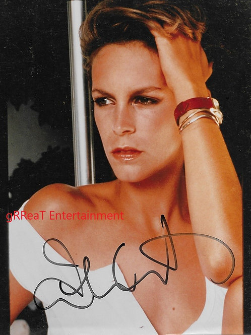 Jamie Lee Curtis autographed 8 in x 10 in. Photo