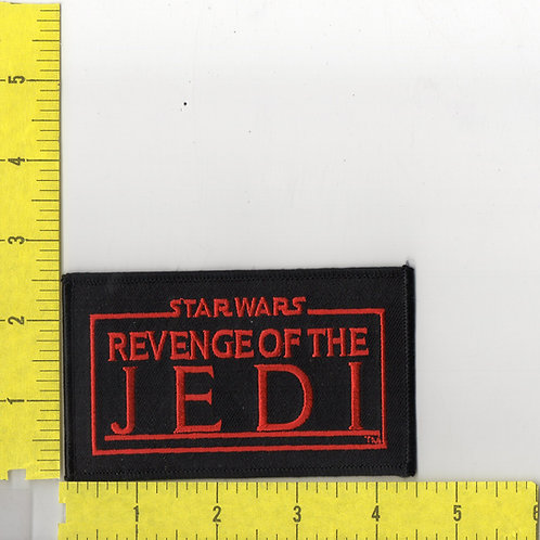 Star Wars: Revenge of The Jedi, Name Logo Patch