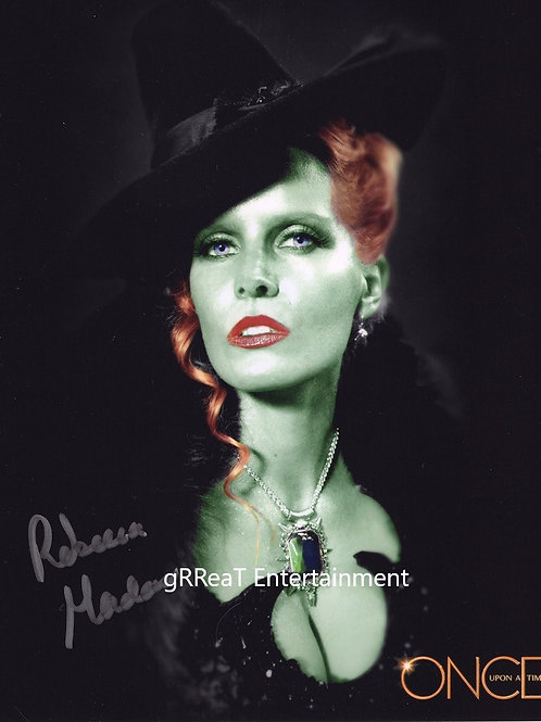 Rebecca Mader autographed 8 in x 10 in photo