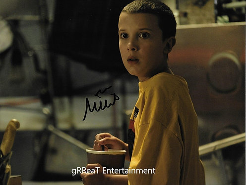Millie Bobby Brown Autographed 8 in x 10 in. Photo