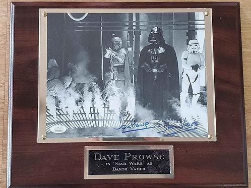 Dave Prowse Cherry Plus Plaque