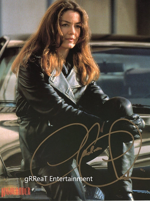 Claudia Christian autographed 8 in x 10 in photo
