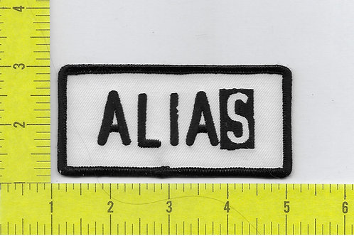 Alias TV Series Logo Patch