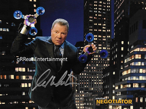 William Shatner Autographed 8in x10in. Photo