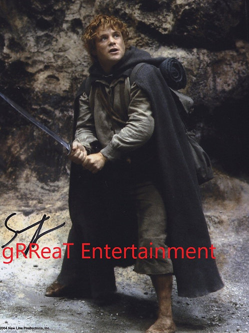 Sean Astin Autographed 8 in x10 in. Photo