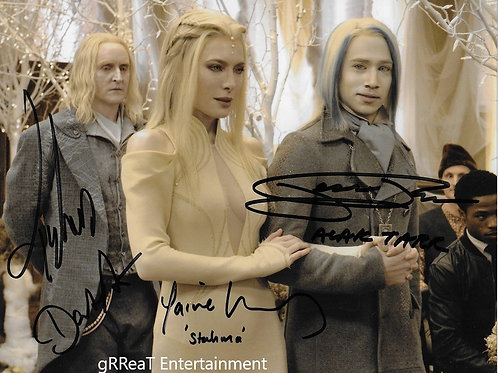 Defiance Trio autographed 10 in x 8 in photo