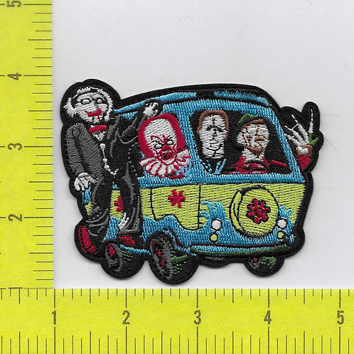 Scoby Doo Monsters Parody Patch SM