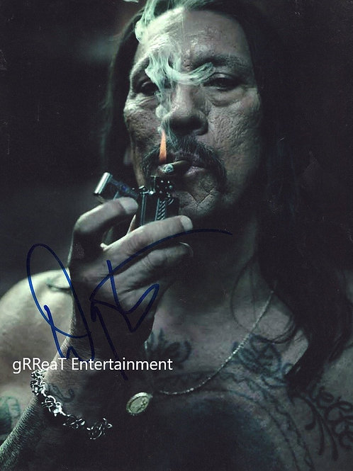 Danny Trejo autographed 8 in x 10 in photo