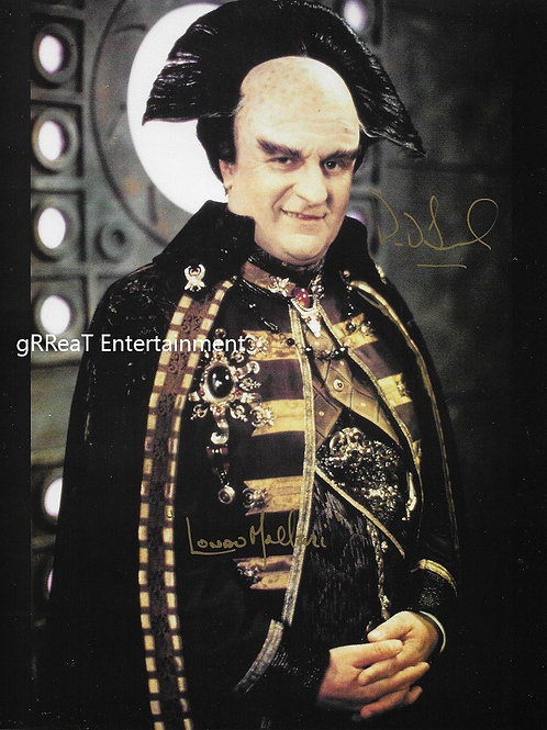 Peter Jurasik autographed 8 in x 10 in photo