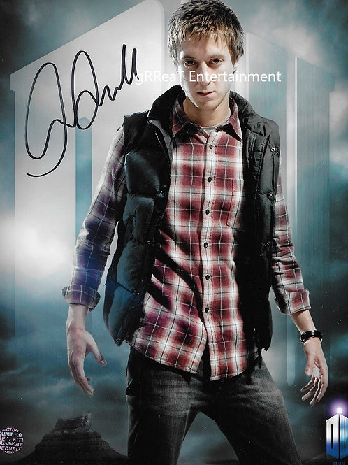 Arthur Darvill autographed 8 in x 10 in photo