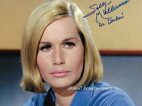Sally Kellerman autographed 10 in x 8 in photo