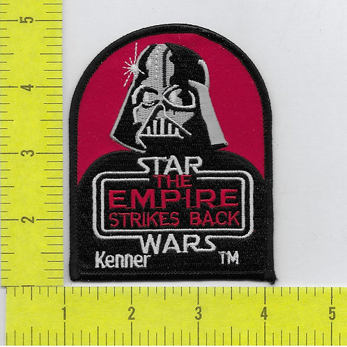 Star Wars: The Empire Strikes Back Movie Title with Vader KENNER Patch