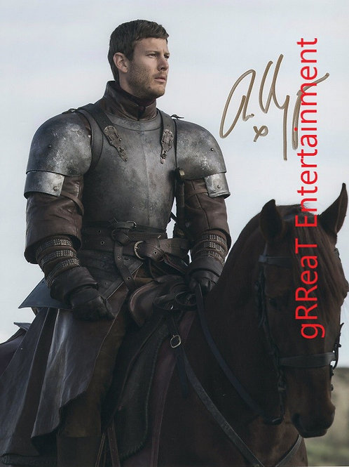 Tom Hopper Autographed 8 in x10 in. Photo