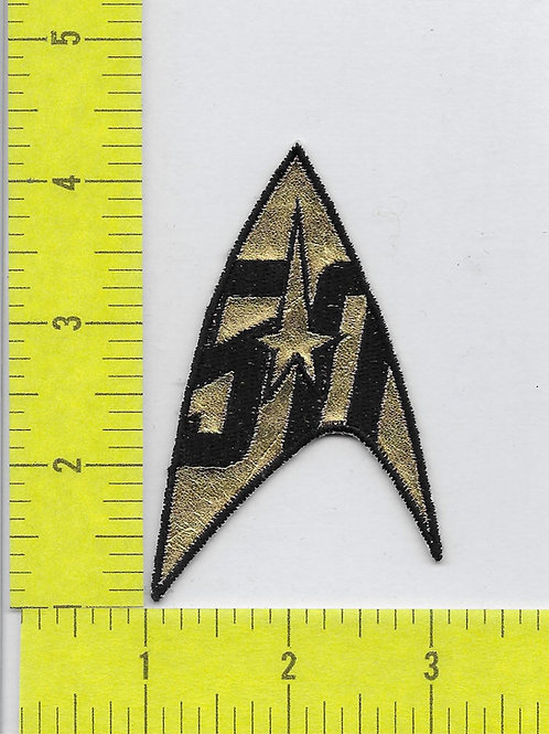 Star Trek: TOS Style 50th Anniversary Command Patch