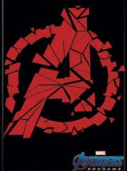 Avengers Endgame:Broken Red A Logo