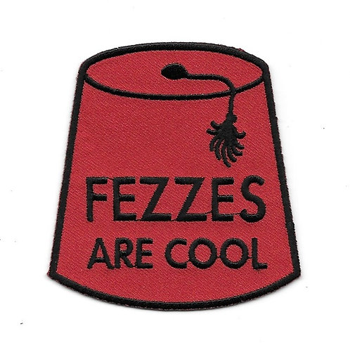 Doctor Who: Fezzes are Cool Patch