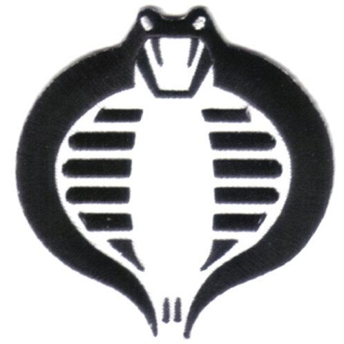 G.I. Joe Cobra Logo (Black and White)