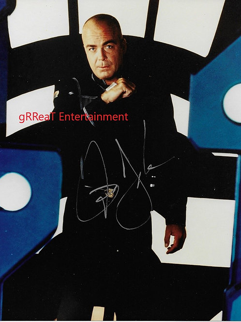 Jerry Doyle autographed 8 in x 10 in. Photo