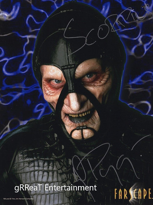 Wayne Pygrum autographed 8 in x 10 in photo