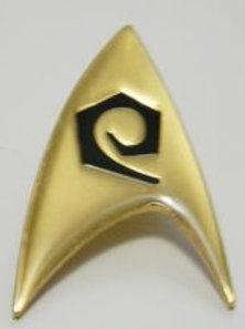 Star Trek classic TV Engineering Logo Pin