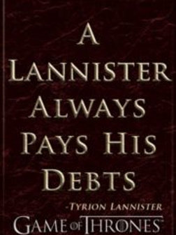 GOT: Lannister Quote