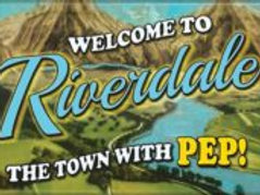 Riverdale: The Town with Pep! Logo