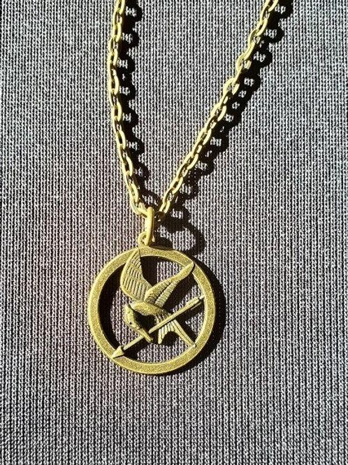 Hunger Games: Mocking Jay Necklace