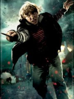 Harry Potter: Ron Wessley with Wand
