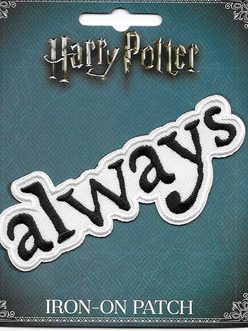 "Harry Potter ""Always"" Licensed Patch"