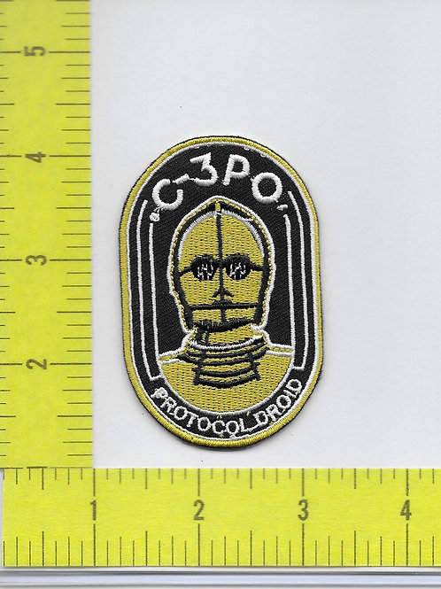 Star Wars: C-3PO Protocol Droid Patch