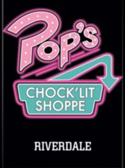 Riverdale: Pop's Chock'Lit Shoppe Logo (B)