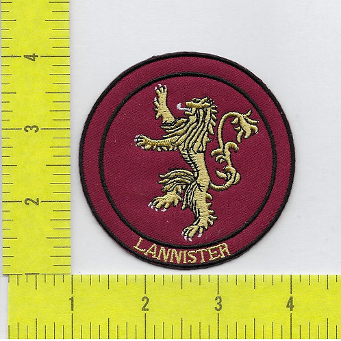 Game of Thrones: Lannister House Sigil Patch