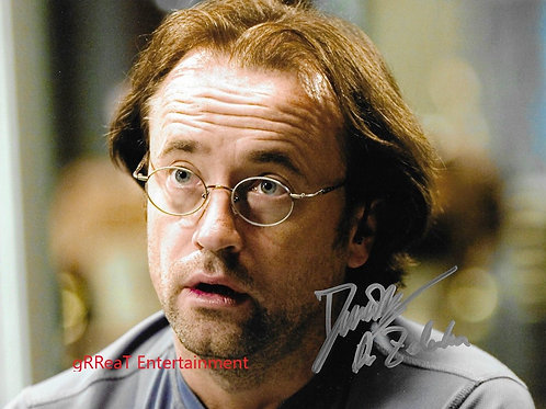 David Nykl autographed 10 in x 8 in photo