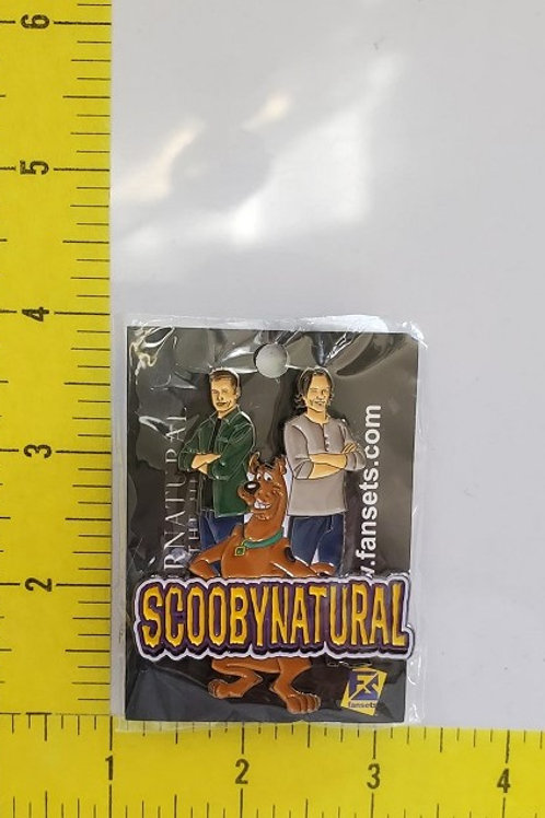 SDCC Exclusive Scobynatural Pin