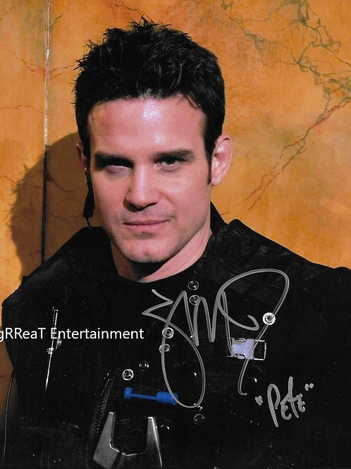 Eddie McClintock autographed 8 in x 10 in photo