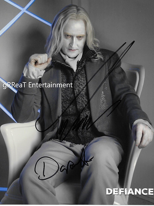 Tony Curran Autographed 8 in x 10 in. Photo