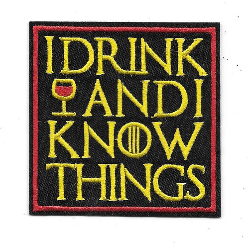 "Game of Thrones: ""I Drink and Know Things"" Patch"