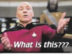 "Star Trek: Next Generation, ""What is This?"""