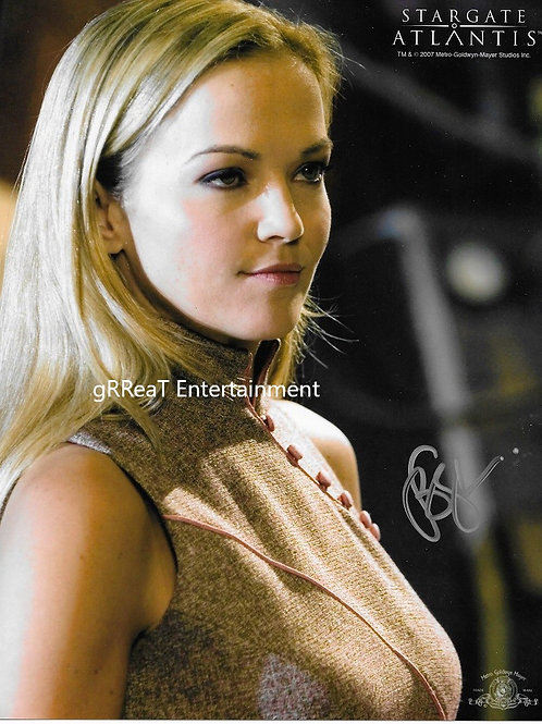 Brandy Ledford autographed 8 in x 10 in photo
